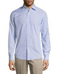 Breuer - Cotton Long Sleeve Shirt - Lyst