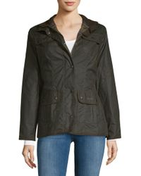 Barbour - Waxed Cotton Utility Jacket - Lyst