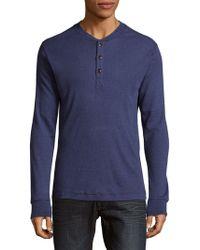 Robert Graham - Kranz Long Sleeve Henley Shirt - Lyst
