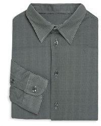 Armani - Jersey Cotton Button-down Shirt - Lyst