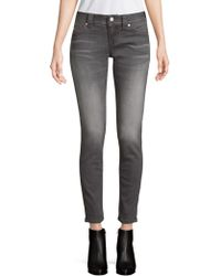 Miss Me - Classic Ankle Skinny Jeans - Lyst