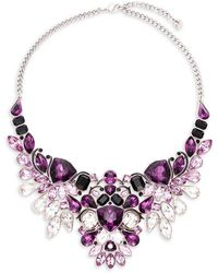 Swarovski - Impulse Vinta Crystal Necklace - Lyst