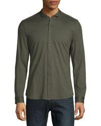 John Varvatos - Long-sleeve Button-down Shirt - Lyst