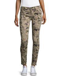 True Religion - Camo-print Distressed Jeans - Lyst