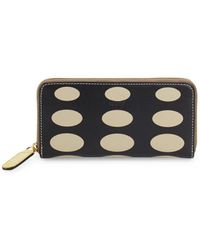 Orla Kiely - Printed Leather Wallet - Lyst