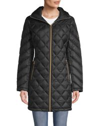 MICHAEL Michael Kors - Down-filled Quilted Packable Coat - Lyst