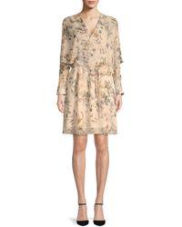 ABS By Allen Schwartz - Floral Popover Dress - Lyst