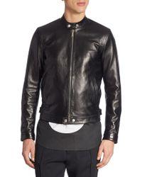 DSquared² - X Dwyane Wadeleather Biker Jacket - Lyst