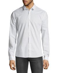 HUGO - Ero3 Arrow Print Shirt - Lyst