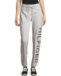 Tommy Hilfiger - Logo Graphic Drawstring Sweatpants - Lyst