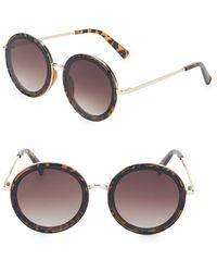 Fantaseyes - 57mm Round Sunglasses - Lyst
