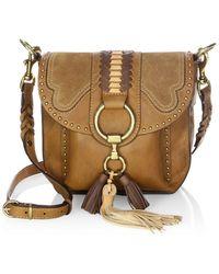 Frye - Leather Saddle Bag - Lyst