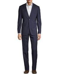 Saks Fifth Avenue - Striped Wool Suit - Lyst