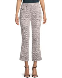 J. Mendel - Embroidered Lace Trousers - Lyst