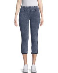 Marc New York - Stretch Cotton Cropped Jeggings - Lyst