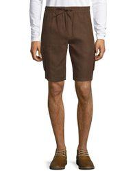 Saks Fifth Avenue - Linen Cargo Shorts - Lyst