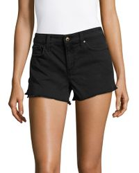 Joe's - High-waisted Cutoff Shorts - Lyst