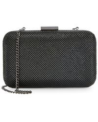 La Regale - Pyramid Mesh Convertible Clutch - Lyst