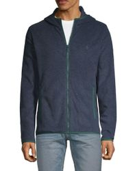 Original Penguin - Soft, Full-zip Hooded Jacket - Lyst