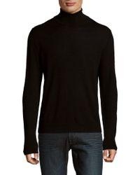 Saks Fifth Avenue - Turtleneck Wool Jumper - Lyst