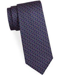 Saks Fifth Avenue | Circular Link Silk Tie | Lyst