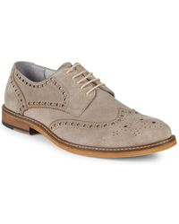 Kenneth Cole - Leather Derby Brogues - Lyst