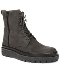 Vince - Edgar Leather Boots - Lyst