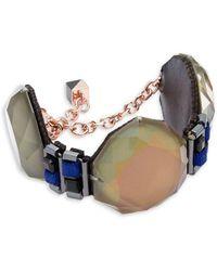 Nocturne - Bruna Faceted Bracelet - Lyst
