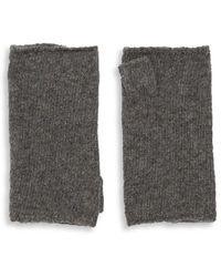 Portolano - Cashmere Fingerless Gloves - Lyst