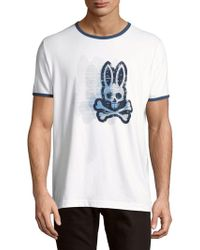 Psycho Bunny - Bunny Cotton Tee - Lyst