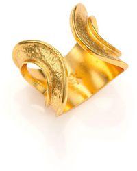 Stephanie Kantis - Sunkissed Hammered Ring - Lyst