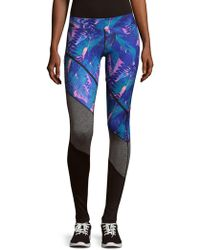 We Are Handsome - Contrast Panelled Leggings - Lyst
