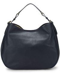 Giorgio Armani - Logo Leather Shoulder Bag - Lyst