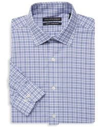 Saks Fifth Avenue - Slim Fit Plaid Dress Shirt - Lyst