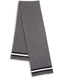 Bally - Striped Wool Scarf - Lyst