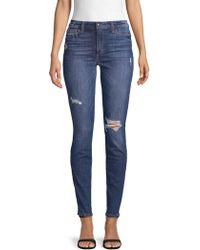 Joe's - Tandy Distressed Skinny Jeans - Lyst