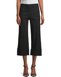 XCVI - Maja Cropped Trousers - Lyst