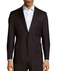 Saks Fifth Avenue - Wool Micronosphere Blazer - Lyst