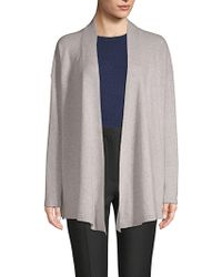 Saks Fifth Avenue - Textured Cashmere Open Front Cardigan - Lyst