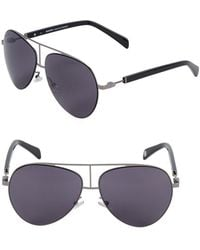 Balmain - 59mm Aviator Sunglasses - Lyst