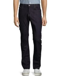 7 For All Mankind - Slimmy Straight-leg Jeans - Lyst