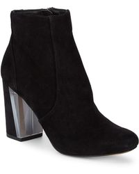 Dolce Vita - Suede Ankle Boots - Lyst