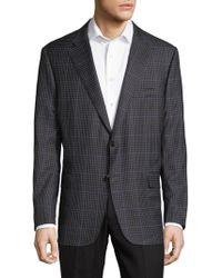 Hickey Freeman - Mini Check Traveler Sportscoat - Lyst