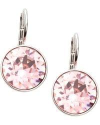 Swarovski - Bella Crystal Drop Earrings - Lyst