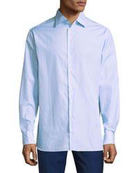 Giorgio Armani - Classic Cotton Button-down Shirt - Lyst