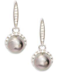 Tara Pearls - Tahitian Pearl & Studs Dangle & Drop Earrings - Lyst
