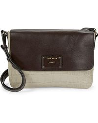 Cole Haan - Jozie Leather Crossbody - Lyst