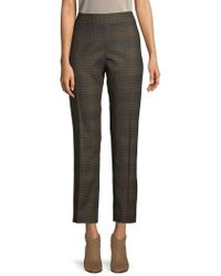 Carolina Herrera - Wool Cigarette Pants - Lyst