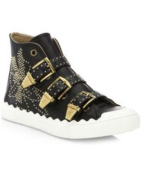 Chloé - High-tops & Sneakers - Lyst