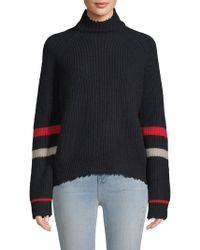 Zadig & Voltaire - Textured Stripe Sweater - Lyst